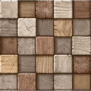 Fotografie tapet Perete din lemn