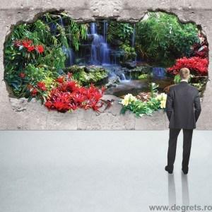 Fotografie tapet Cascada Paradis 1 3D