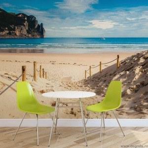 Fotografie tapet Plaja minunata