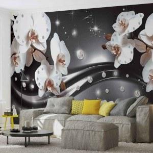 Fotografie tapet Abstractie orhidee 3 3D XL