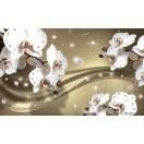 Fotografie tapet Abstractie orhidee 5 3D XL