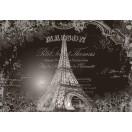 Fotografie tapet Turnul Eiffel - Vechi
