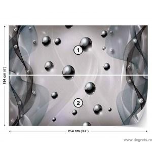Fotografie tapet Abstractie Stil modern 3D