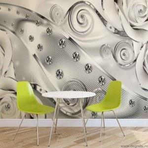 Fotografie tapet  Abstractie Arta moderna 3D XL