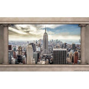Fotografie tapet panorama New York 2