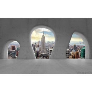 Fotografie tapet vedere in New York