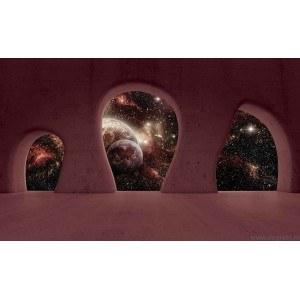 Fotografie tapet priveliste spre cosmos