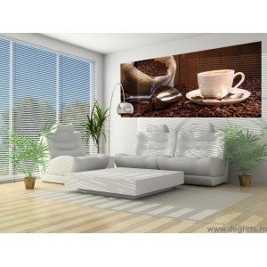 Fotografie tapet Cafeaua de dimineata Vlies