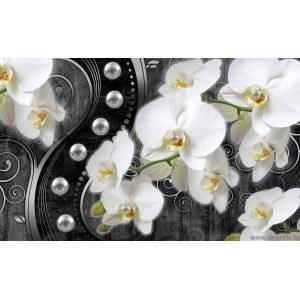 Fotografie tapet Abstractie Orhidee 6 3D XL