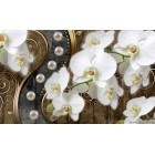 Fotografie tapet Abstractie Orhidee 7 3D XL