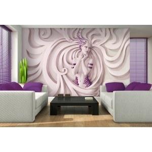 Fotografie tapet Zeita violet XL