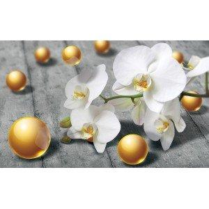 Fotografie tapet Orhidee Abstractie 2 3D