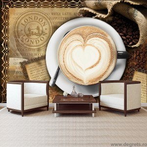 Fotografie tapet Cafea in Londra