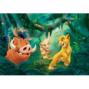 Fotografie tapet Simba si prietenii
