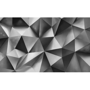 Fotografie tapet Abstractie Argintie 2 3D L