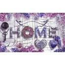 Fotografie tapet Casa violet L
