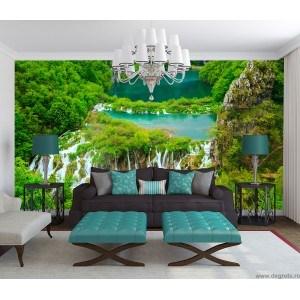 Fotografie tapet Cascada in jungla XL