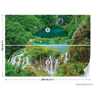 Fotografie tapet Cascada in jungla L 1