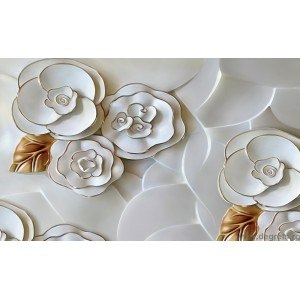 Fotografie tapet Abstractie Trandafiri 2 3D XL