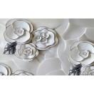 Fotografie tapet Abstractie trandafiri 3 3D XL