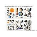 Sticker Aventuri spatiale