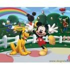 Fotografie tapet vinil premium casa lui Mickey Mouse