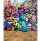Fotografie tapet vinil premium Disney Scoala de monstrii