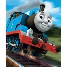 Fotografie tapet vinil premium Thomas si tancul motor