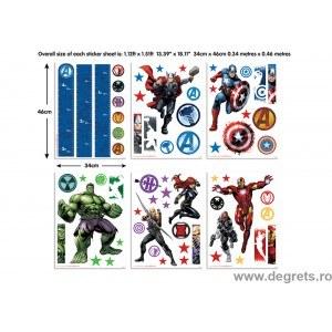 Sticker Adunarea Avengers 1