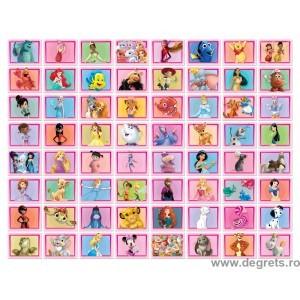 Colaj Disney 64 piese - Roz