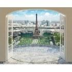 Fotografie tapet vinil premium Turnul Eiffel in Paris