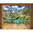Fotografie tapet vinil premium Muntii Alpi