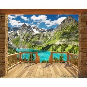 Fotografie tapet premium Muntii Alpi