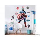 Sticker Capitanul America