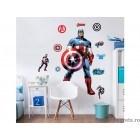 Sticker Capitanul America