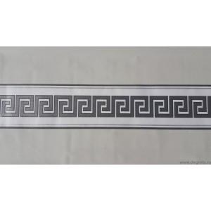 Friza Decorativa Versace - alb - argintiu