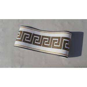 Friza Decorativa Versace - alb - auriu