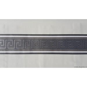 Friza Decorativa Versace negru - argintiu