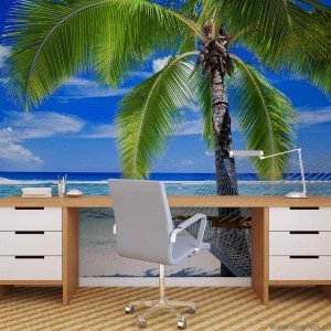 Fotografie tapet Plaja Miami
