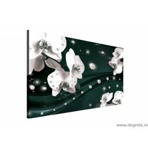 Tablou Canvas Abstractie Orhidee 5 3D L
