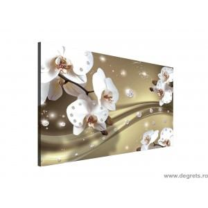 Tablou Canvas Abstractie Orhidee 6 3D L