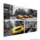 Tablou Canvas Taxi