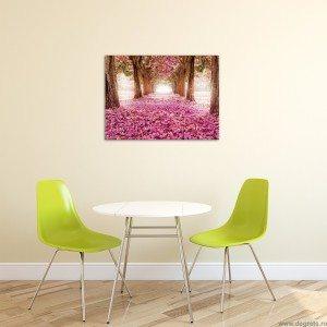 Tablou Canvas Cale roz L
