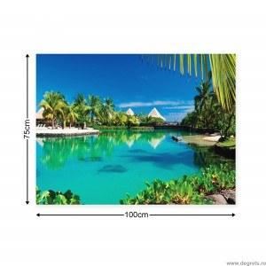 Tablou Canvas Maldive 1