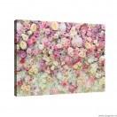 Tablou Canvas Perete cu flori 3D L