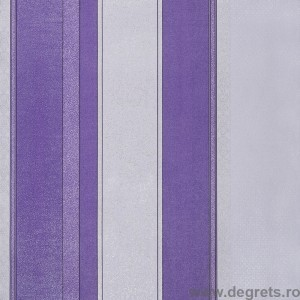 Tapet hartie Baroc dungi violet