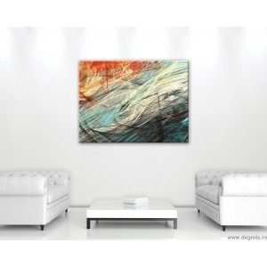 Tablou Canvas Abstractie 3 3D L