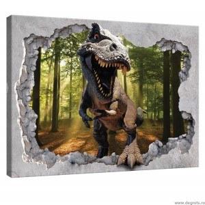 Tablou Canvas Dinozaur 3D