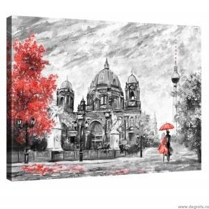 Tablou Canvas Arta de oras L