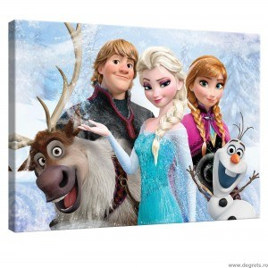 Tablou Canvas Frozen 2